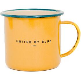 United By Blue Pack Up & Go Tasse Acier émaillé Bidon de vélo, orange